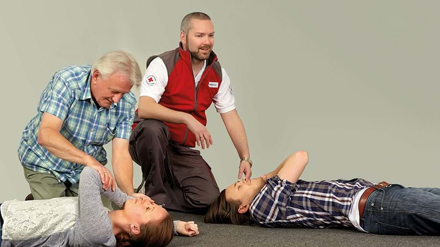 first aid training recovery position